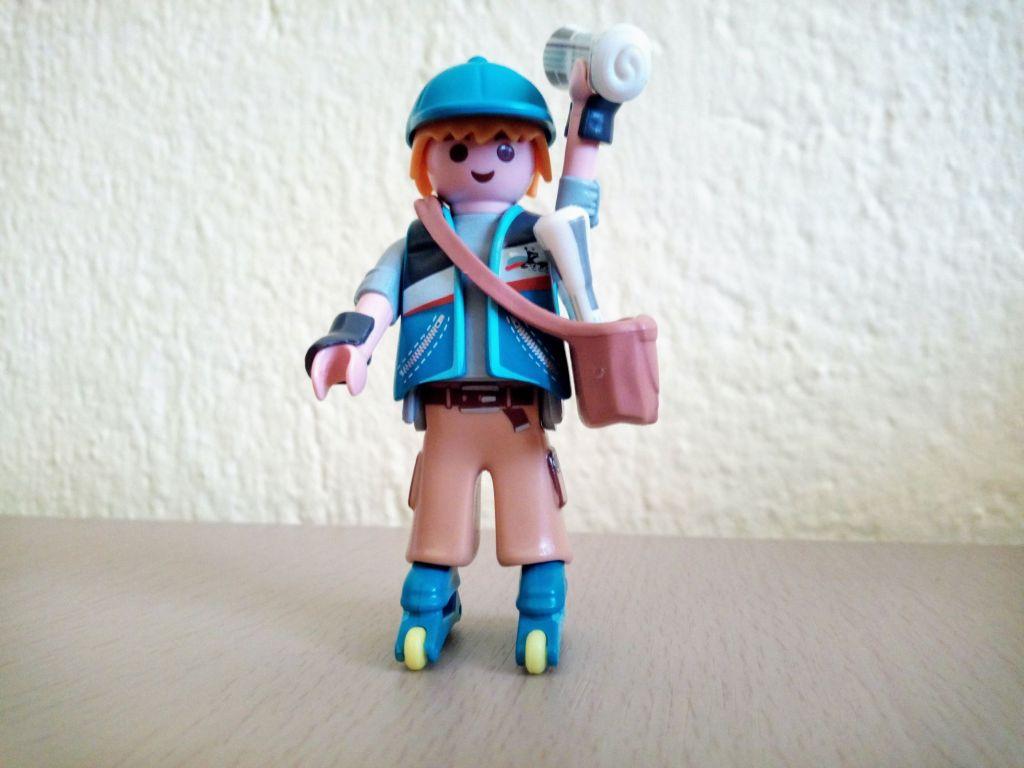 Playmobil 9332v1 - Paperboy - Box
