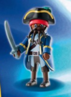 Playmobil - 70069v11 - Pirate Captain