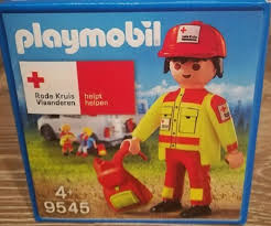 Playmobil 9545 - Red Cross of Flanders - Box