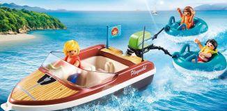 Playmobil - 70091 - Sportboot mit Fun-Reifen