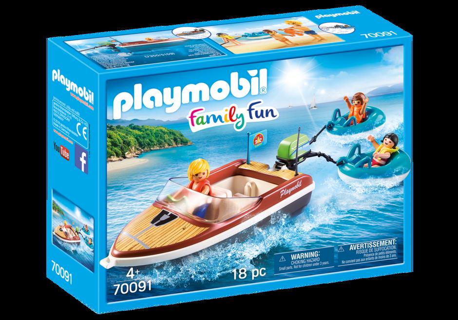 Playmobil 70091 - Sportboot mit Fun-Reifen - Box