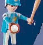 Playmobil - 70159-06 - Baseball player