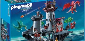 Playmobil - 5996 - Knights Red Dragon Fortress