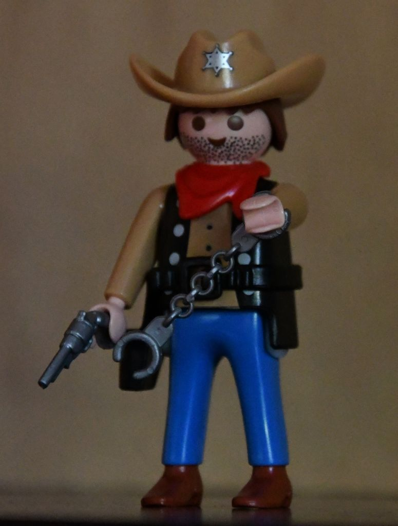Playmobil R038-30793004 - Sheriff - Back
