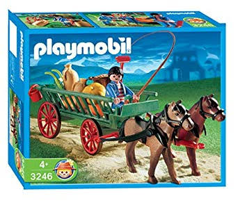 Playmobil 3246s2 - Horse Drawn Cart - Box