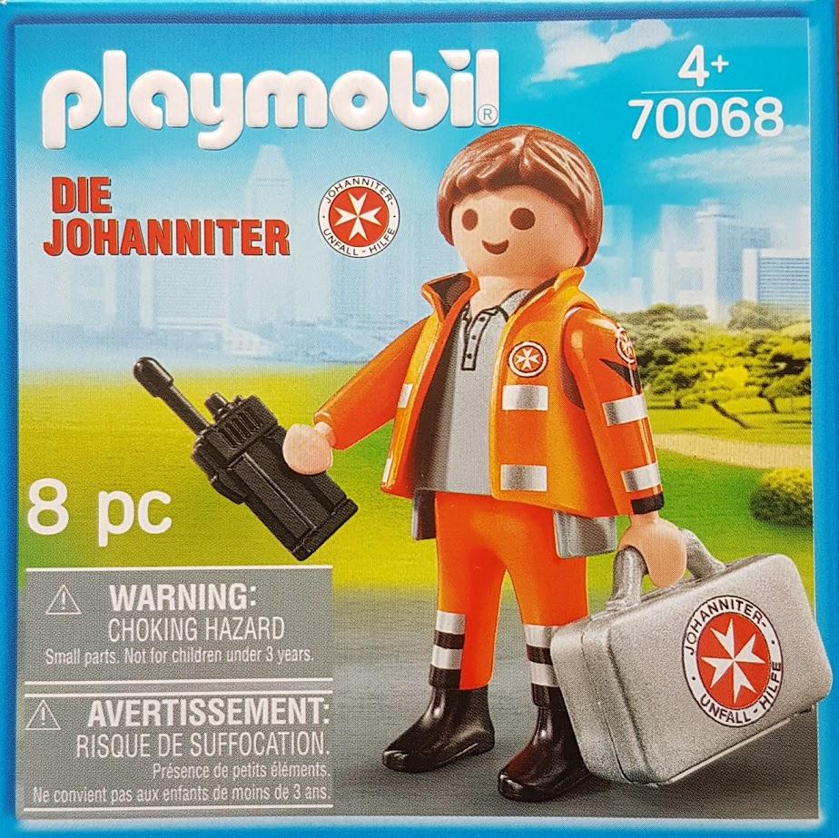 Playmobil 70068-ger - Die Johanniter - Box