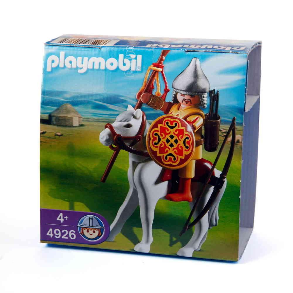 Playmobil 4926 - Mongolian Warrior on Horse - Box