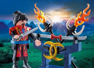 Playmobil - 70158 - Asian Fighter