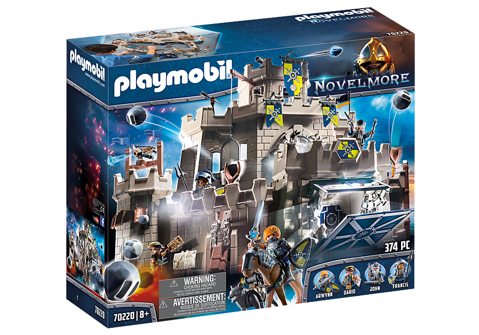 Playmobil 70220 - Novelmore Big Castle - Box