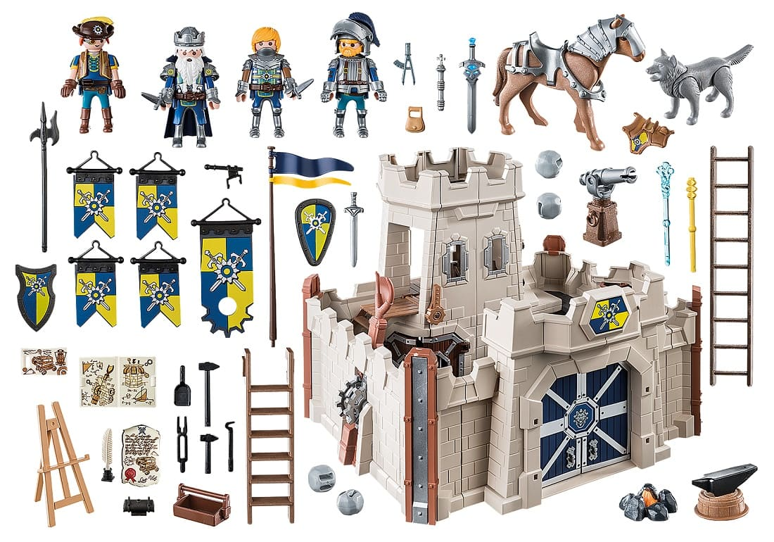 Playmobil 70222 - Novelmore Little Castle - Back