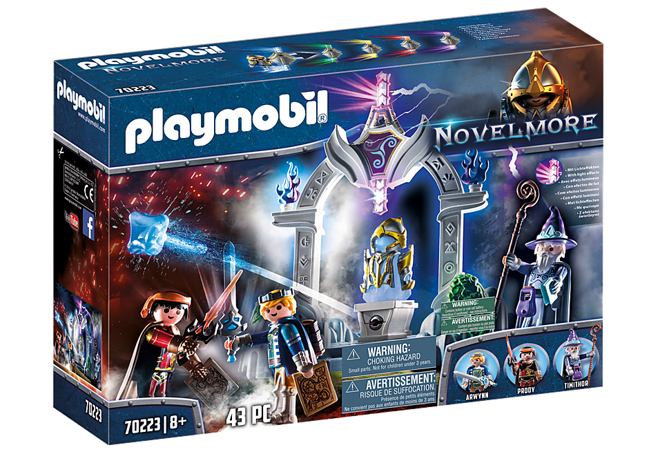 Playmobil 70223 - Temple of Time - Box