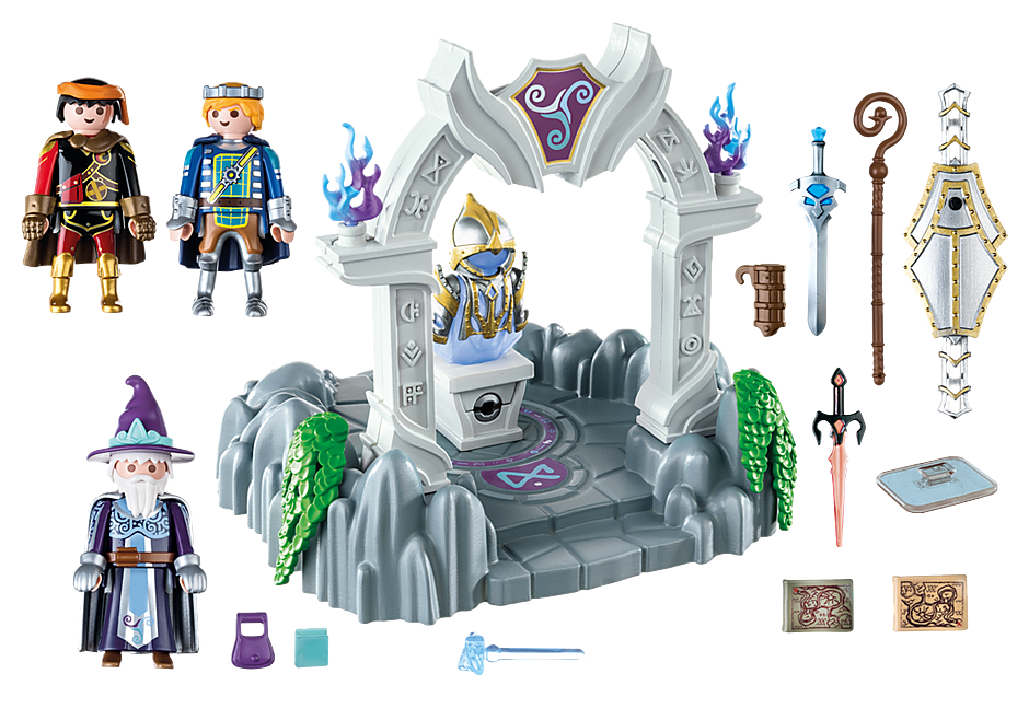 Playmobil 70223 - Temple of Time - Back