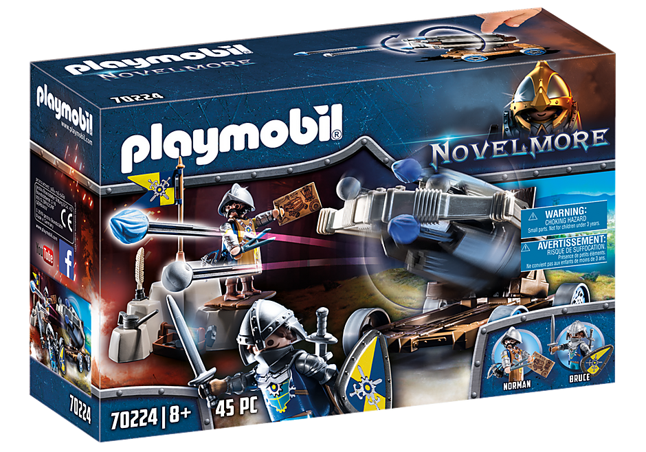 Playmobil 70224 - Novelmore Water Ballista - Box