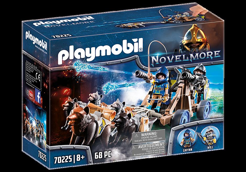 Playmobil 70225 - Novelmore Wolfsgespann und Wasserkanone - Box