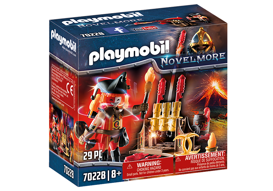 Playmobil 70228 - Burnham Raiders Fire Master - Box