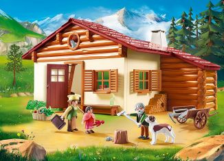 Playmobil - 70253 - Heidi's Alpine House