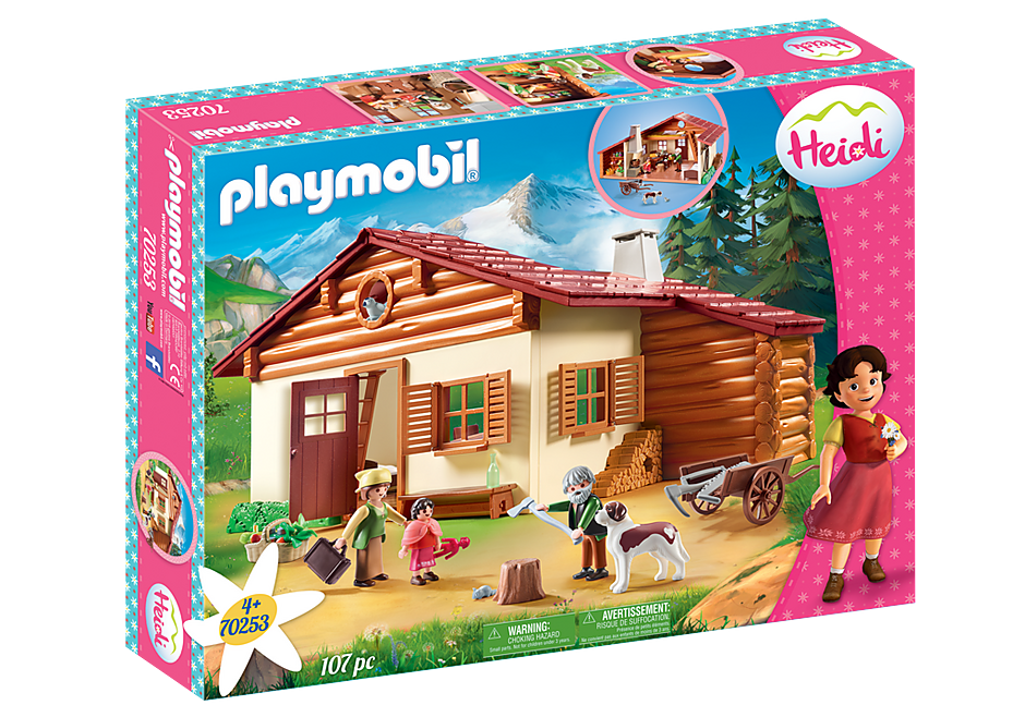 Playmobil 70253 - Heidi's Alpine House - Box