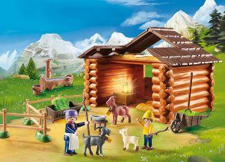 Playmobil - 70255 - Peter's Goat Barn