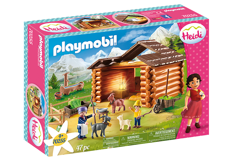 Playmobil 70255 - Peter's Goat Barn - Box