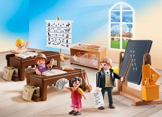 Playmobil - 70256 - Schulunterricht im Dörfli