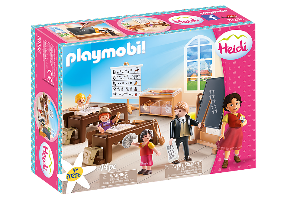 Playmobil 70256 - Schulunterricht im Dörfli - Box