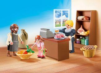 Playmobil - 70257 - Dorfladen der Familie Keller