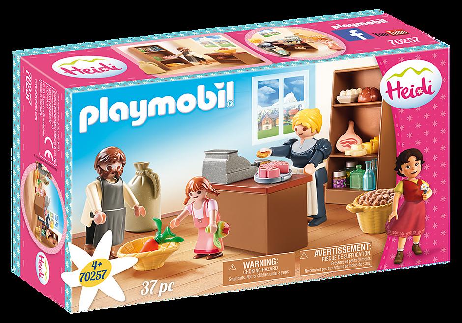 Playmobil 70257 - Dorfladen der Familie Keller - Box