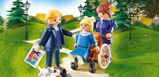 Playmobil - 70258 - Clara mit Vater und Fräulein Rottenmeier