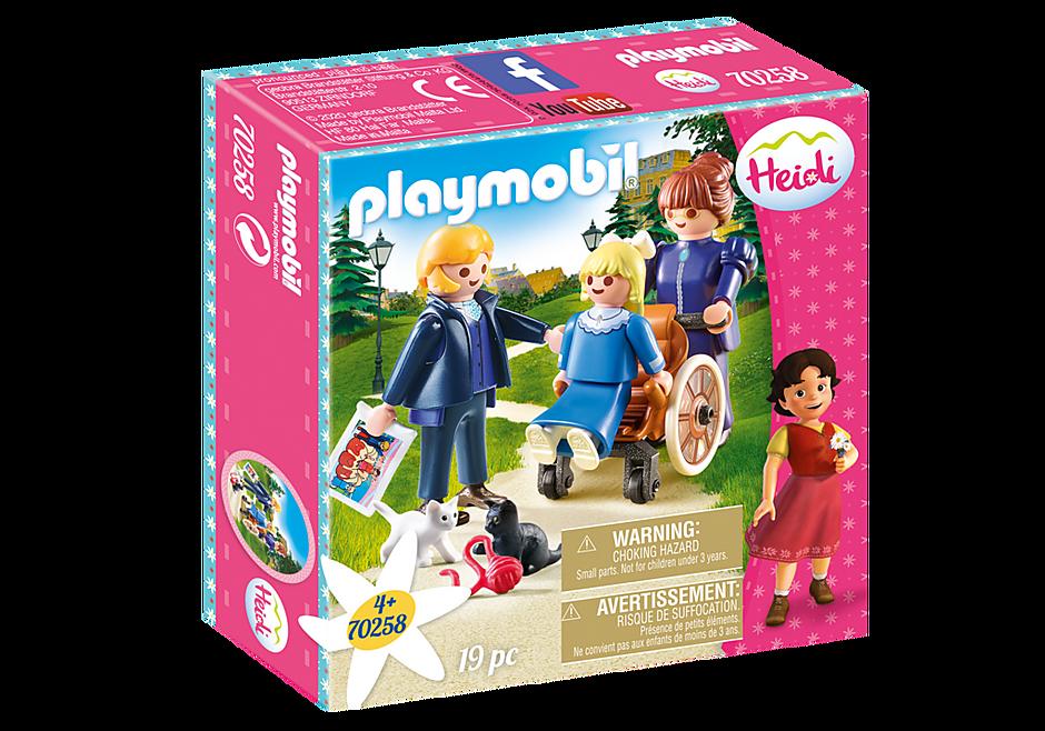 Playmobil 70258 - Clara mit Vater und Fräulein Rottenmeier - Box