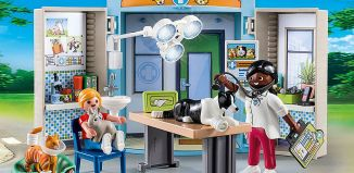 Playmobil - 70309 - Spielbox Beim Tierarzt