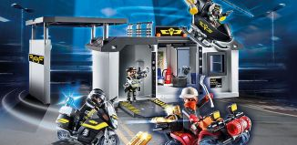 Playmobil - 70338 - Take Along Tactical Unit Headquarters