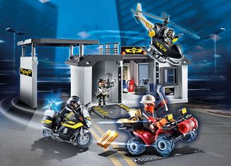 Playmobil - 70338 - Take Along Tactical Unit Headquarters