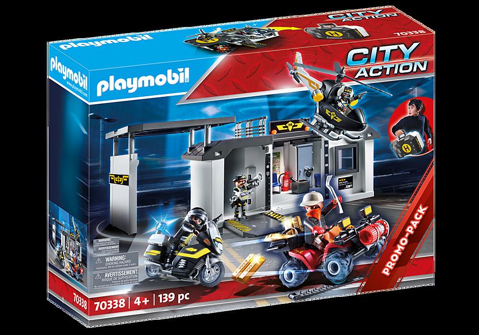 Playmobil 70338 - Große Mitnehm-SEK-Zentrale - Box