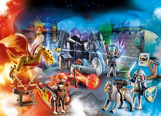 Playmobil - 70187 - Advent Calendar - Fight for the magic Stone