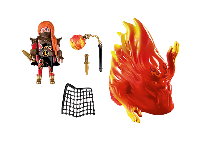 Playmobil 70227 - Burnham Raiders Spirit of Fire - Back