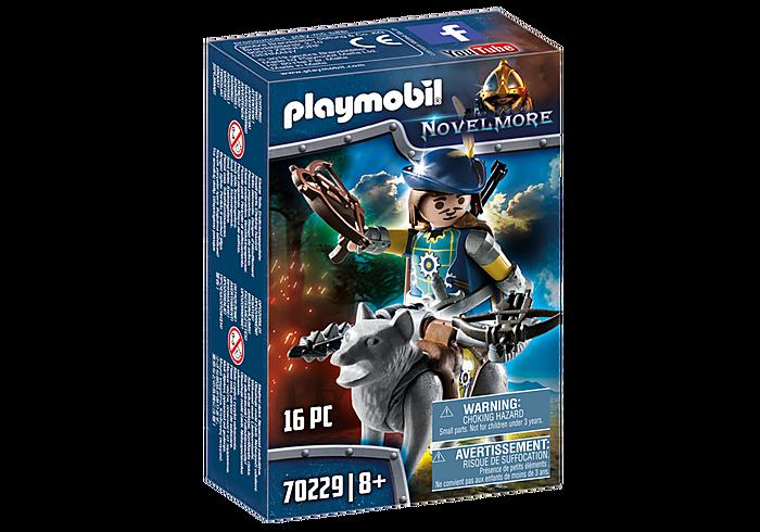 Playmobil 70229 - Novelmore Armbrustschütze mit Wolf - Box