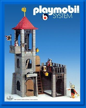 Playmobil 3445 - Castle Tower - Box