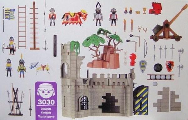 Playmobil 3030 - Adventure - Knights - Back