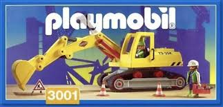 Playmobil 3001v1 - Bagger - Box