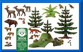 Playmobil 3006 - Forest Animals - Back