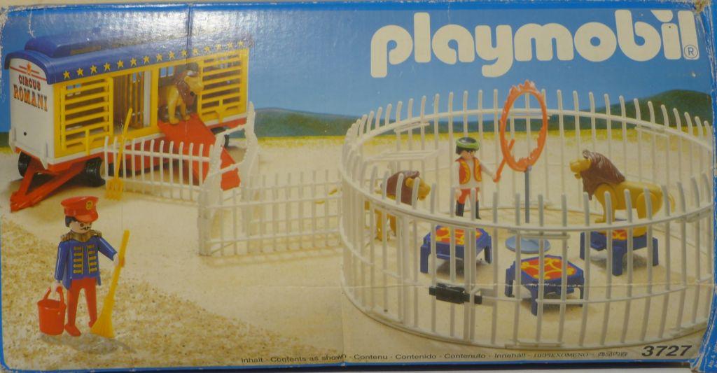 Playmobil 3727 - Lion Tamer & Lions - Box