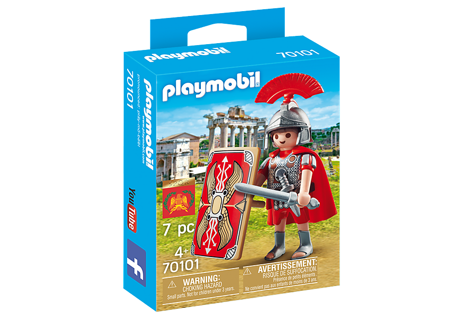Playmobil 70101-ita - Roman Warrior - Box