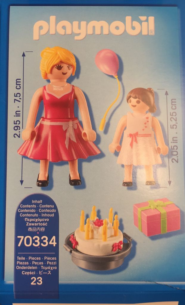 Playmobil 70334-gre - play + give godmother - Back