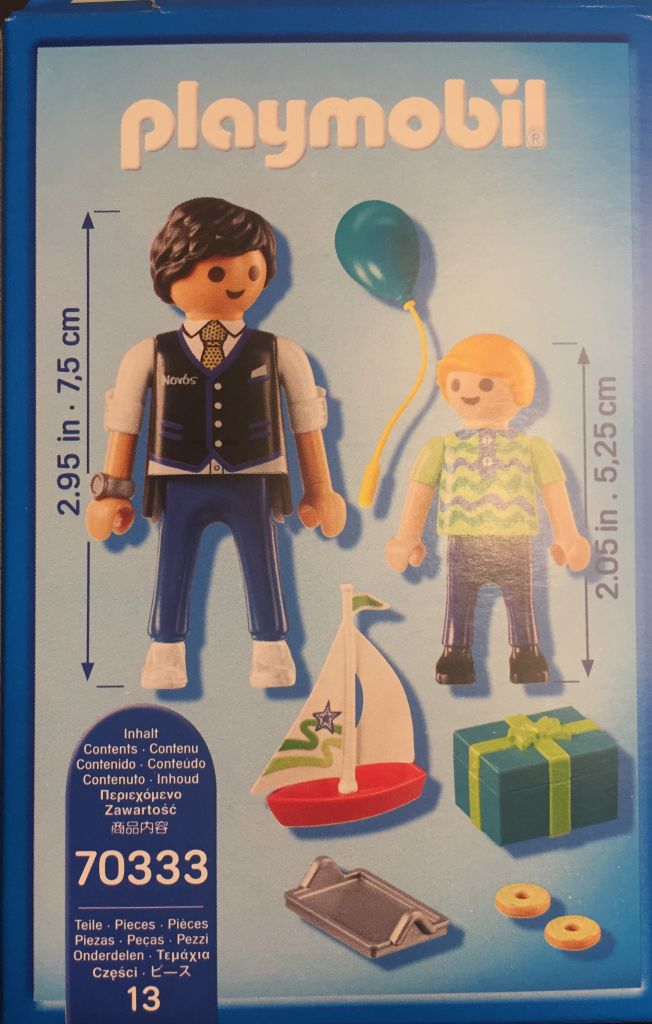 Playmobil 70333-gre - play + give godfather - Back