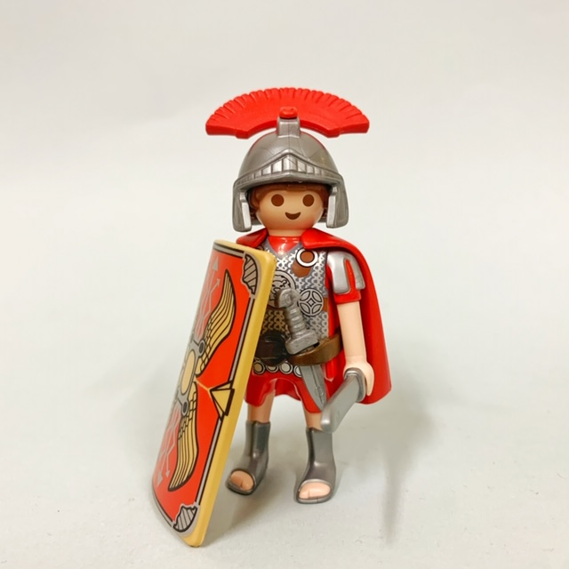 Playmobil 70101-ita - Roman Warrior - Back