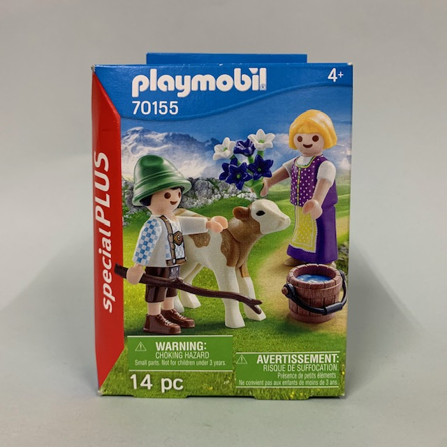Playmobil 70155 - Children With Calf - Box