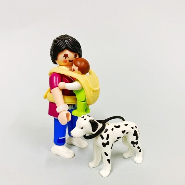 Playmobil 70154 - Madre con bebé - Volver