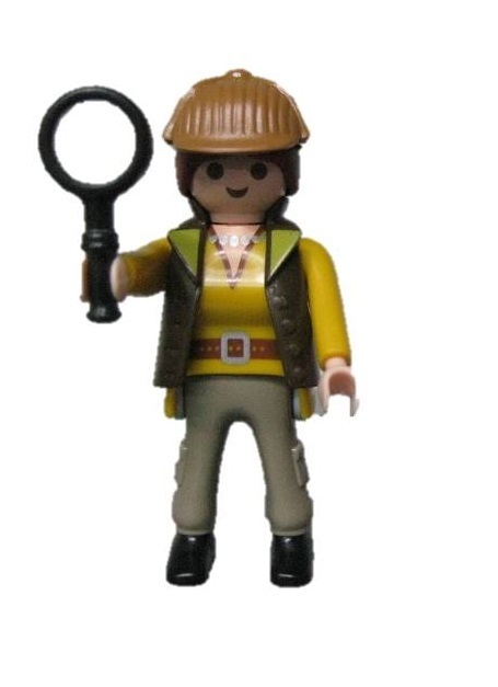 Playmobil 70160- 10 -  Researcher - Box
