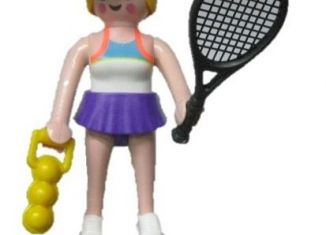 Playmobil - 70160- 11 -  Tennis player
