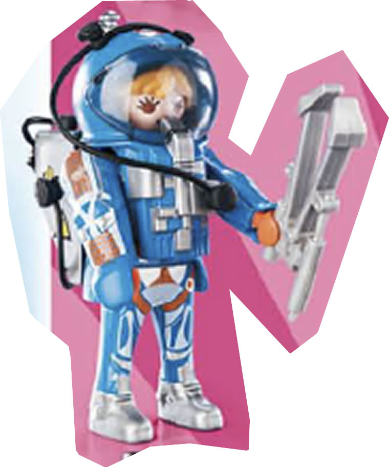 Playmobil 70160v5 - Astronaut woman - Box